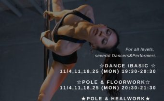 Dance&Poledance Workshop Nov