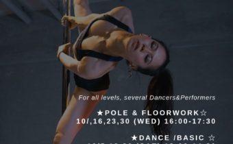 Dance&Poledance workshop Oct